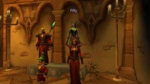 Three Warlocks and a Shaman